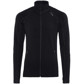 Lundhags Merino Full Zip Jacket Men Black